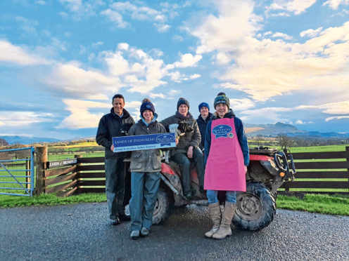 The Duncan family have seen a surge in customers buying direct.