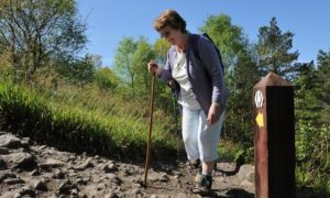 Nature Scot has provided funding to improve walking paths across Scotland.