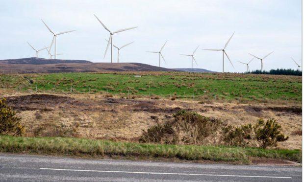 proposed Ackron wind farm