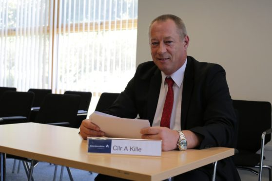 Andy Kille, leader of Aberdeenshire Council.
