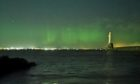 A picture of the Aurora Borealis over Aberdeen taken last night by Moab.in and posted on Twitter.