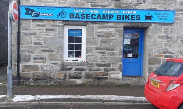 Bikes were stolen from BaseCamp Bikes