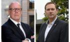 Aberdeen council funding row: Aberdeen Central MSP Kevin Stewart and Aberdeen City Council co-leader Douglas Lumsden