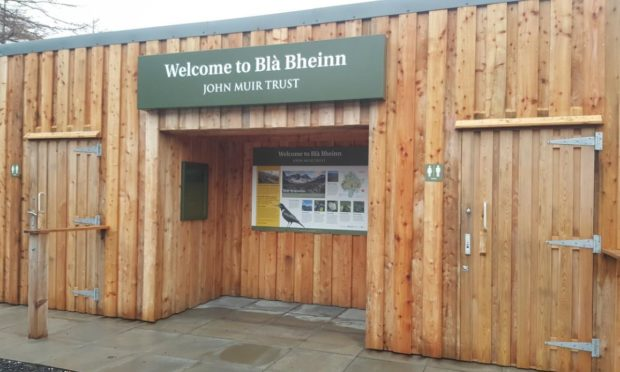 Bla Bheinn on Skye, where green toilet facilities were created at the popular climbing and visitor site.