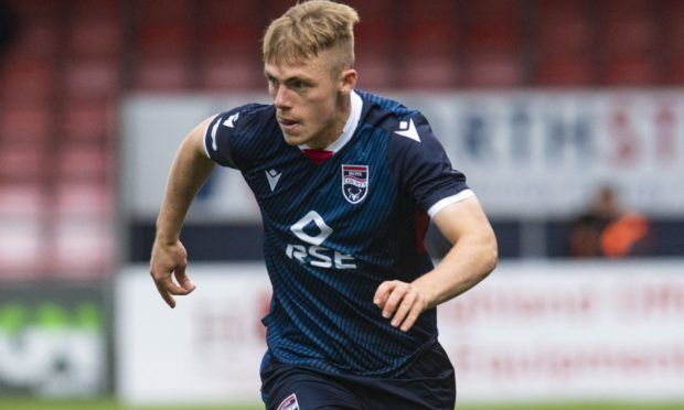 Josh Reid made a big impact at Ross County before joining Coventry City.