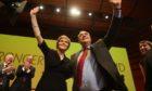 Nicola Sturgeon and Alex Salmond when they were a close team