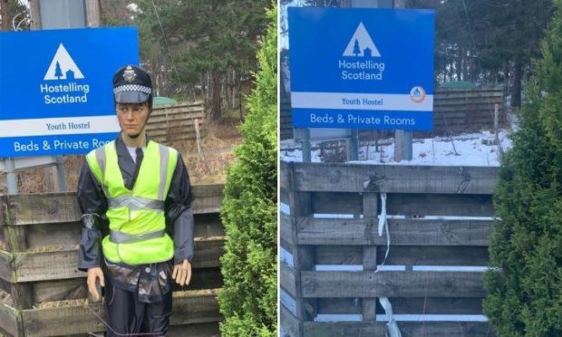 Allan has been taken from his post on the A93 Glenshee road in Braemar.