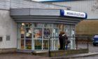 The Bank of Scotland at East Tullos Industrial Estate, which is set to close on March 9. Picture by Kenny Elrick