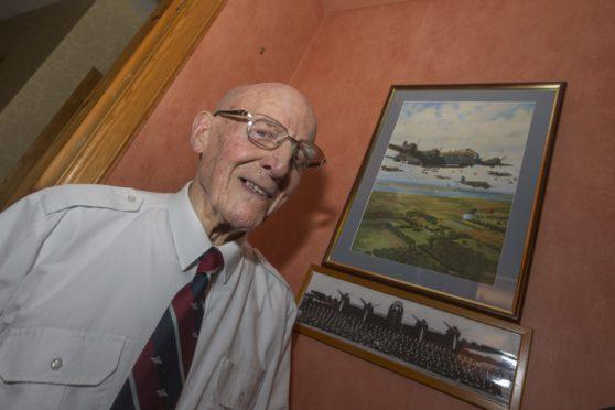 Mr Mason, who is celebrating his 100th birthday