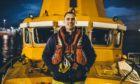 Davie Orr, former RNLI coxswain. Aberdeen.