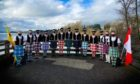 Dunvegan Dance Academy in Canada who performed three Highland dances for the virtual Burns Supper.