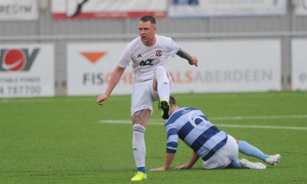 Cove Rangers defender Ryan Strachan.