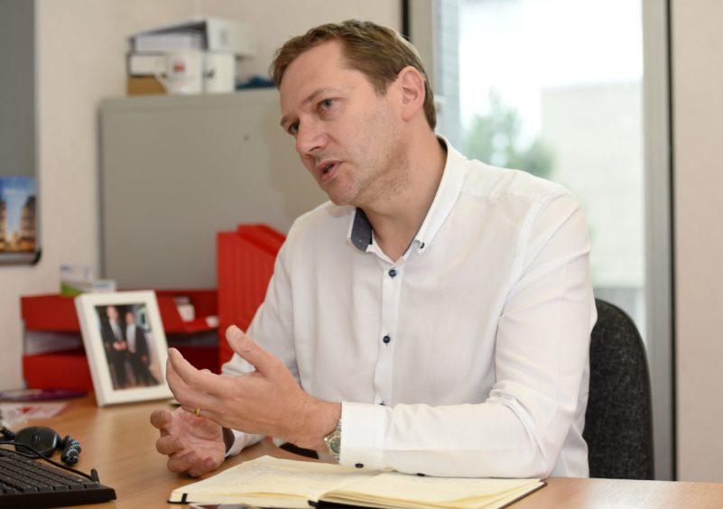 Aberdeen City Council co-leader, Douglas Lumsden, hopes the UK Prosperity Fund will remove bureaucracy.
