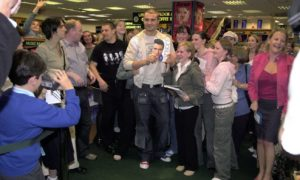 Hundreds of fans queued to see pop star Darius for a book signing at Ottakar's bookshop in the Trinity Centre in 2003. The singer went on to carve a successful career in West End musicals.