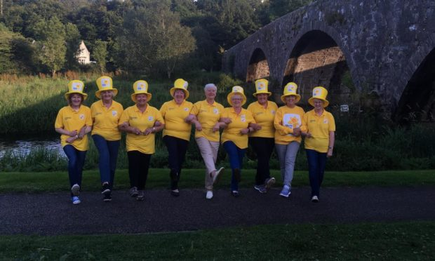 Ten Grampian-based Marie Curie fundraising groups are celebrating having collectively hit a 500,000 milestone for the end of life charity, which provides care and support for people with terminal illness and their families.
