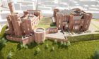 Design plan of Inverness Castle revamp