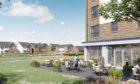 An artist impression of the 113-home Barratt development.
