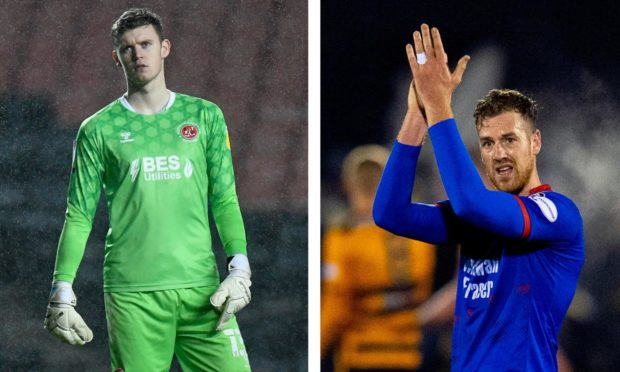 Joe Hilton (left) and Jordan White, are both signing targets for Ross County.