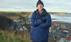 Retired vet John Bracegirdle in Cullen.