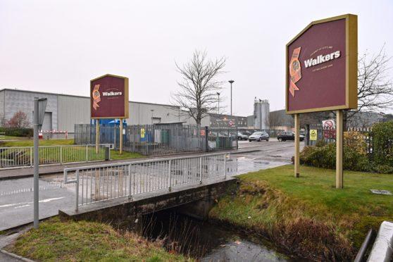 Walkers Shortbread factory in Elgin.