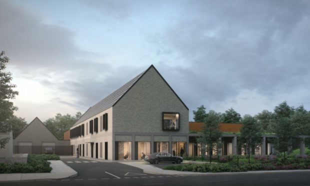 Plans lodged with Aberdeen City Council for a replacement mortuary at Foresterhill.