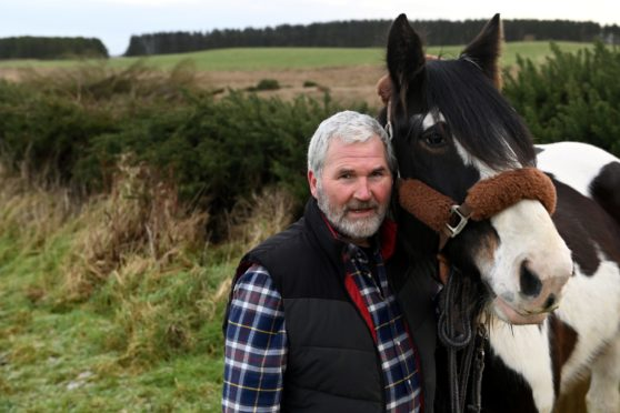 Dougie Smith, of Muirtack Livery near Ellon.