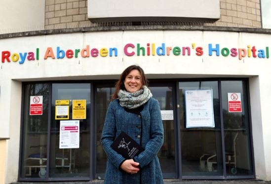 CR0026227  Paula Cormack, pictured at the Royal Aberdeen Children's Hospital, has been named new chief executive of The Archie Foundation.  Picture by Kami Thomson / DCT Media         14-01-2021`