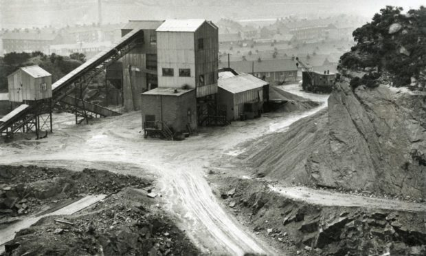 Kincorth quarry in 1963.