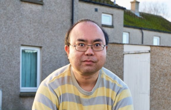 Matthew Jun Fei Freeman who faces deportation from Scotland has received community support in his fight with immigration bosses.