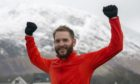 Olly Stephen (35) covered more than 1,600 miles to raised money for Fort William Football Club.