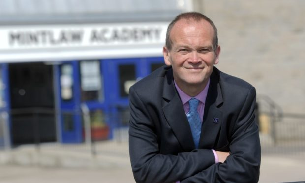 Laurence Findlay, Head of Education for Aberdeenshire Council