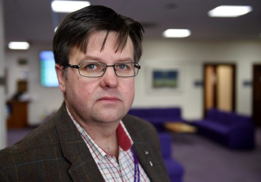 Lochaber councillor Andrew Baxter