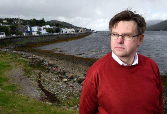 Highland councillor Andrew Baxter