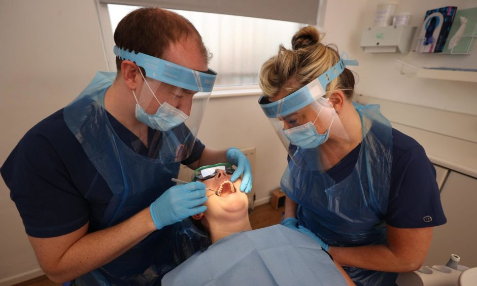 Dentists funding