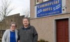 Elizabeth and Kenneth Duncan are hoping to sell The Commercial Hotel, Cuminestown. .