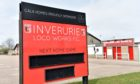 Inverurie Locos home ground Harlaw Park.