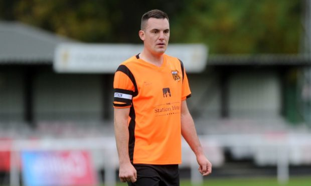 Rothes captain Bruce Milne is one of nine players to sign contract extensions with the club