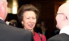 HRH The Princess Royal at UHI Moray College graduations in 2015.