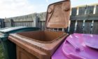 Collections of pink and blue bins in Moray could be cut to save money.