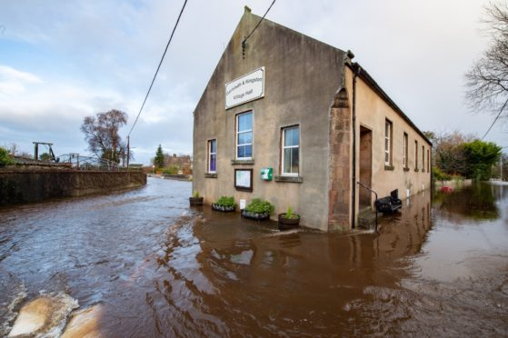Flooding has affected Garmouth for years but concerns have grown worse in recent months.