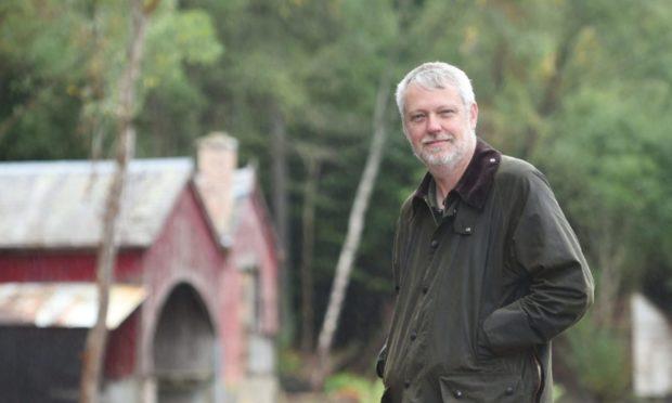 Brian Higgs, chairman of Finderne Development Trust.
