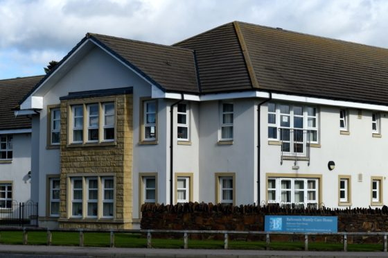 Balhousie care home in Huntly.