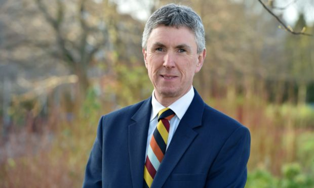Director of the Scottish Centre of Tourism at RGU, Andrew Martin.