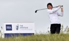 Scottish amateur Rory Franssen at the PGA Amateur at Royal Aberdeen in 2018.