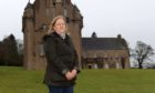 Boy racers have been causing havoc in the car park of Crathes Castle, so much so that the castle is now considering shutting the car park outwith normal opening hours. Pictured is Councillor Ann Ross.  Picture by KATH FLANNERY