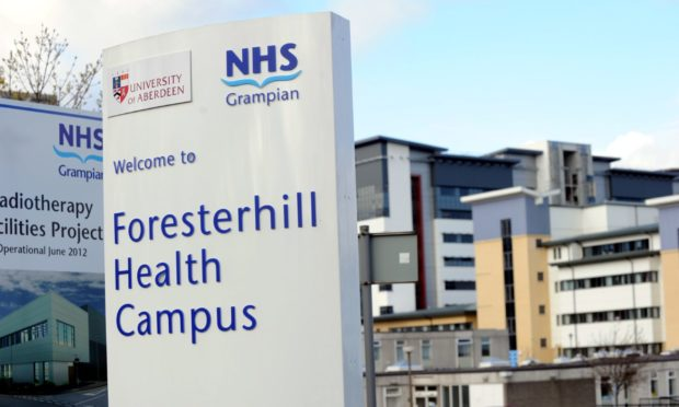 14 deaths have been recorded across Grampian over a 24 hour period. NHS Grampian.