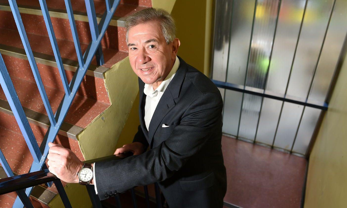 Inverness hotelier Tony Story.