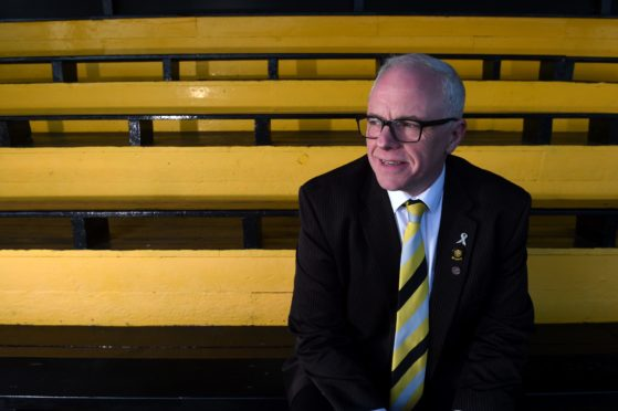 Donald Matheson, chairman of Highland League side Nairn County.