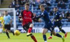 New Peterhead signing Andrew McDonald, left, in action for former club Elgin
