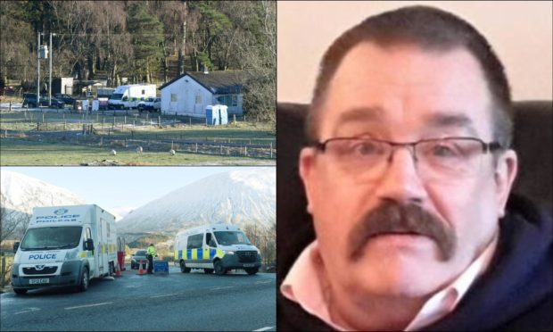 Human remains confirmed to be cyclist Tony Parsons after search near Highland farm.